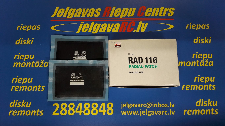 Ielāps riepai 116 TL (104 x 67 mm)
