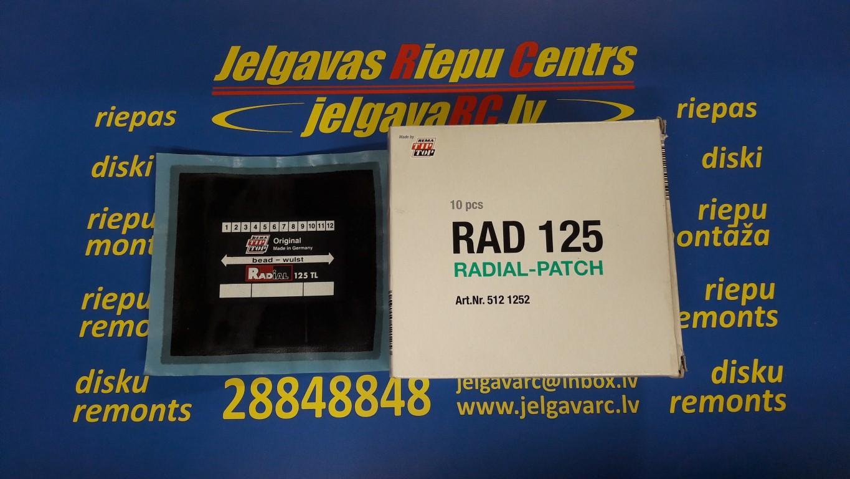 Ielāps riepai 125 TL (125 x 115 mm)