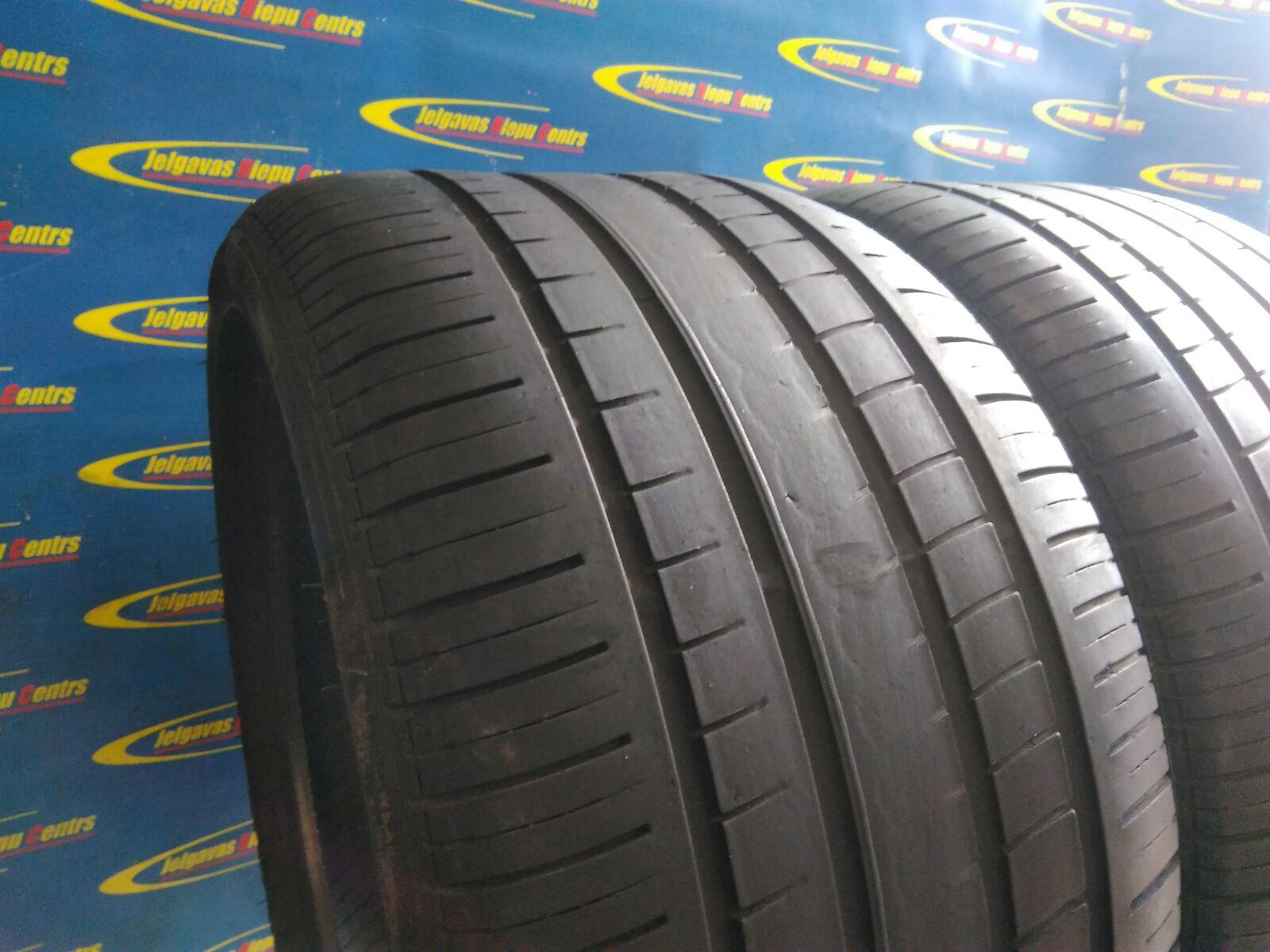 Lietota 285/30/R18 96Y Pirelli P ZeroRosso (protektora dziļums 4...3mm)