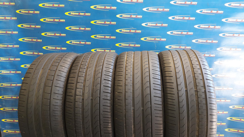 Lietota 245/40/R18 93Y Pirelli Cinturato P7 (protektora dziļums 4mm)