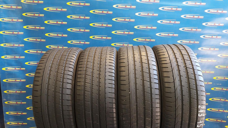 Lietota 245/45/R18 100Y Pirelli P Zero (protektora dziļums 5mm)