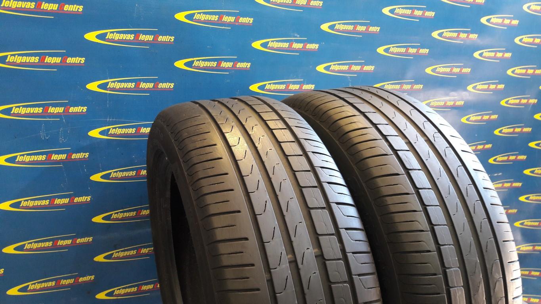 Lietota 245/45/R18 96Y Pirelli Cinturato P7 RFT (protektora dziļums 5...4.5mm)