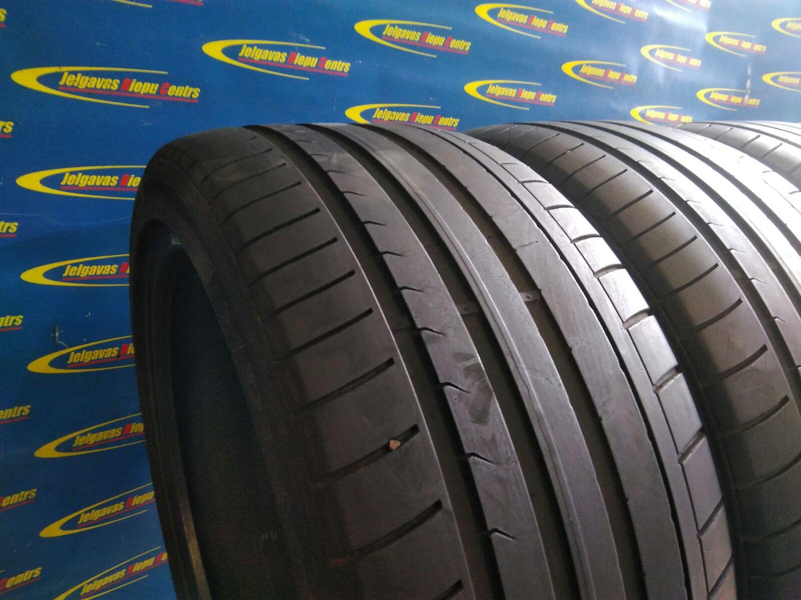 Lietota 255/40/R19 96V Dunlop SP SportMaxx GT (protektora dziļums 4...3.5mm)