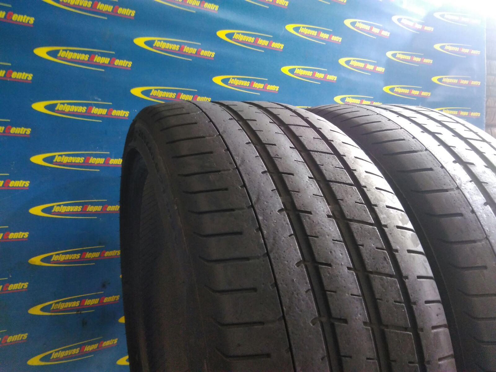 Lietota 255/40/R21 102Y Pirelli P Zero  (protektora dziļums 4...3mm)